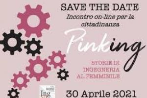 Storie straordinarie di ingegneria al femminile:Incontro on-line gratuito e aperto al pubblico  Venerdì 30 aprile 2021, ore 18-20