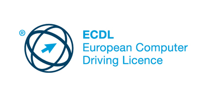 ecdl long logo with registration rgb